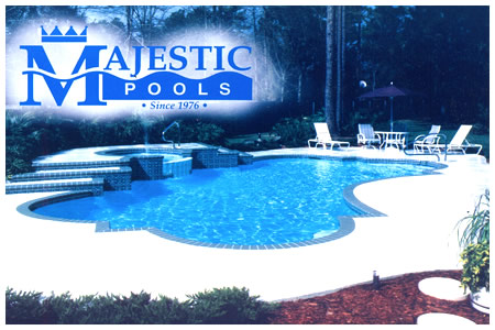 Vinyl liner concrete fiberglass inground pools best for Pool design jacksonville fl