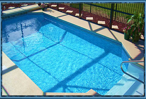Photos pictures pools orange park fl best jacksonville for Above ground pool decks orlando
